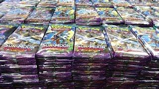 Opening 1,000 Guardians Rising Pokemon Packs