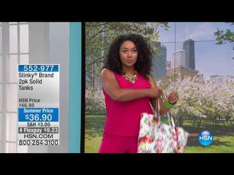 HSN   Slinky Brand Fashions 06.09.2017 - 04 PM