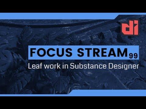 Leaf work in Substance Designer [EP99]