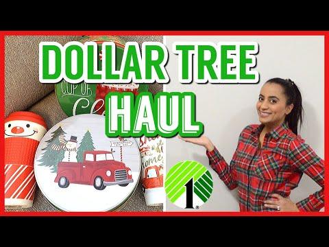 DOLLAR TREE HAUL| DOLLAR TREE GIFT IDEAS| NEW FINDS AT DOLLAR TREE| DOLLAR STORE CHRISTMAS 2019