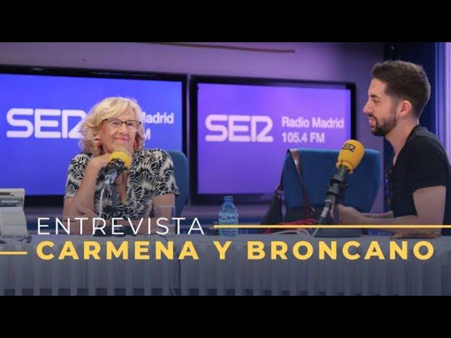 David Broncano y Manuela Carmena: ¿el nuevo dúo cómico?