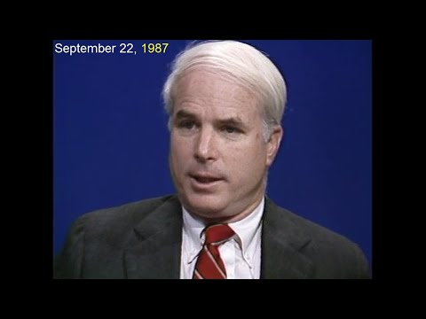 McCain: 30 Years of Selling Weapons