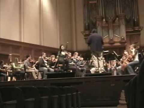 Jing Wang performs erhu Rhapsody