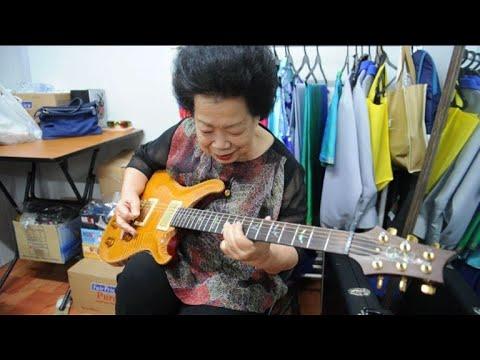 Singapore guitar-slinging granny shreds stereotypes