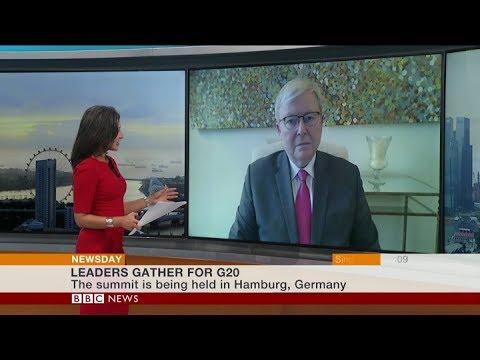 Kevin Rudd on BBC News:  G20 and North Korea