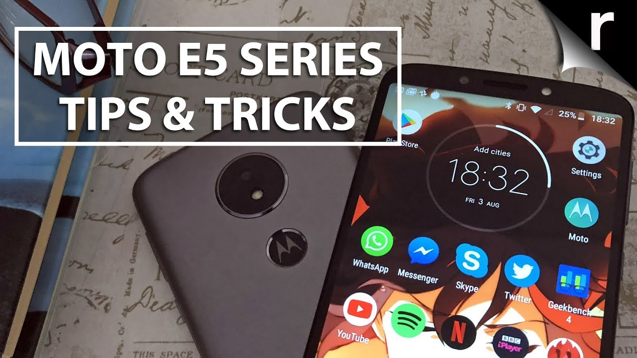 Motorola Moto E5 Series | Tips and Tricks