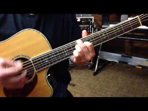 Alternate Tuning DF#DF#AF# - Key A Bebop Dominant