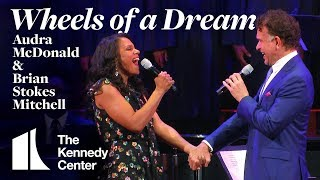 "Audra McDonald and Brian Stokes Mitchell re-unite to sing ""Wheels of a Dream"" from Ragtime"