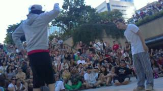 08/04/2012 VSDF Popping Finals : Moose vs Brian