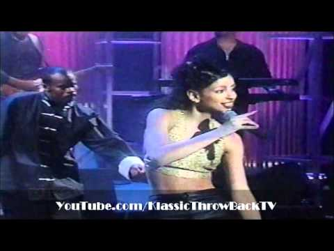 """Mya featuring Sisqo - """"It's All About Me"""" Live (1998)"""