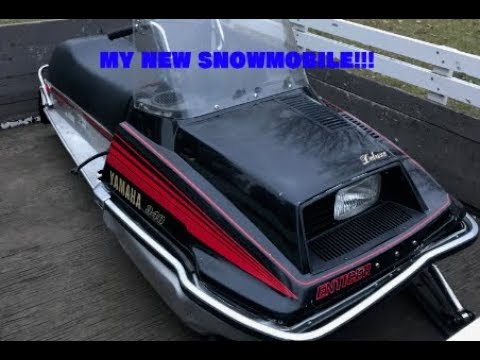 Yamaha 1979 340 Enticer Deluxe  (MY NEW SNOWMOBILE!!!)