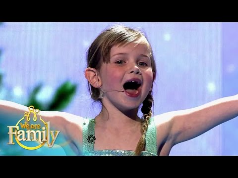 Five-Year-Old Fay sings 'Let It Go' from Disney's FROZEN