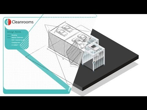 How modular cleanroom systems work