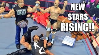 GTS WRESTLING: Brothers of Destruction! WWE Mattel Figure Matches Animation PPV Event!