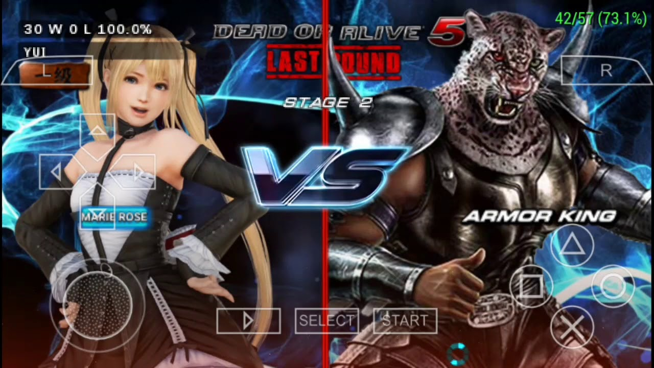 Dead Or Alive 5 Last Round Gameplay Hd Android Ios Ppsspp