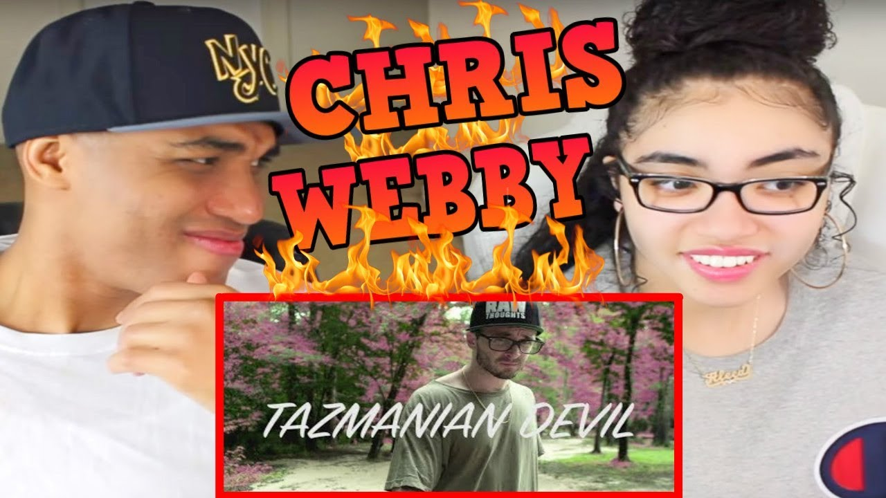 MY DAD REACTS TO Chris Webby - Tazmanian Devil REACTION (Official Video)