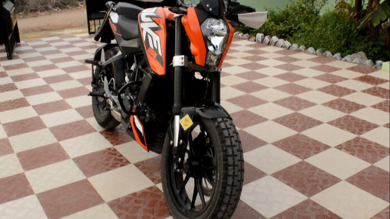 KTM Duke 200 CEAT Vertigo off road tyre change(INDIA) - YouTube