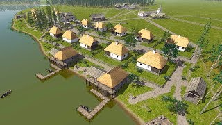 Ostriv | Ep. 3 | Farming, Fishing & Local Trade Begins | Ostriv Sandbox City Builder Tycoon Gameplay