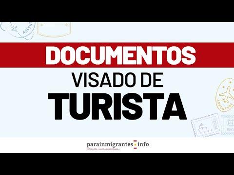 Documentos para solicitar un visado de turista