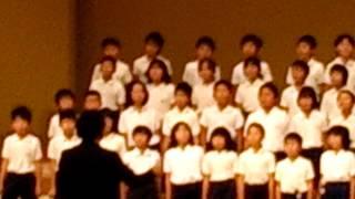 4,5年生による音楽会.
