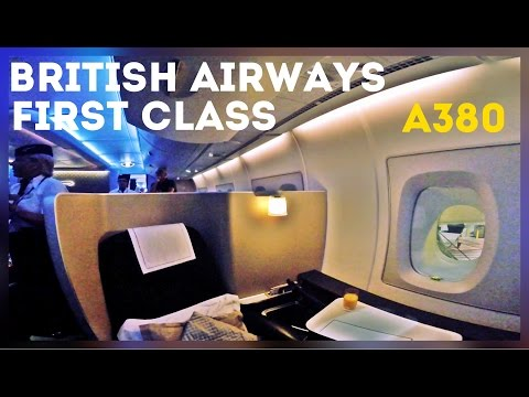BRITISH AIRWAYS FIRST CLASS | AIRBUS A380 | LAX-LHR