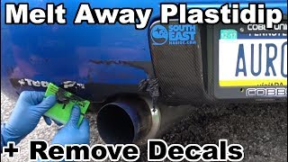 homepage tile video photo for Removing Old Plastidip, Stickers, & Decals with Goo Gone