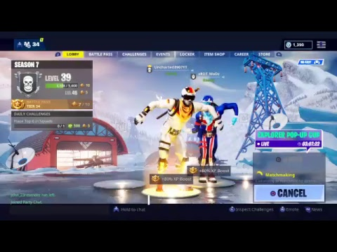 ALPINE ACE AND SKI BOOT ARE BACK //FORTNITE BATTLE ROYALE