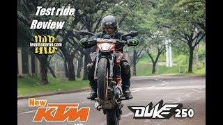 Vlog (Part 1) : Review new KTM Duke 250   Adu betot vs Ninja 150RR