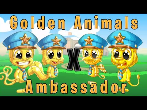 FUN RUN 3 : GOLDEN ANIMALS X AMBASSADOR !