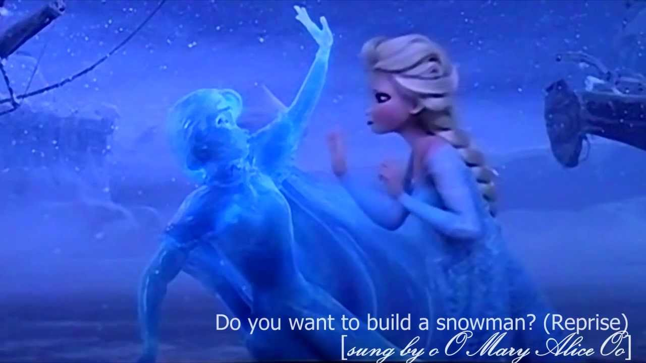 Do you want to build a snowman reprise fancover by for I want to make a snowman