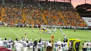 Dalla Cowboys wins Rams in Hawaii