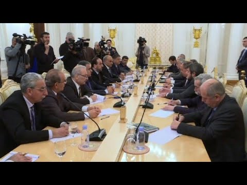 Lavrov meets Syrian opposition delegation in Moscow