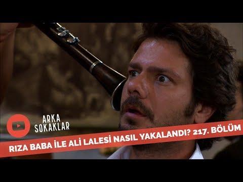 Rıza Baba Ali Lalesi'yle Evdekilere Yalan Söylerken Nasıl Yakalandı? 217. Bölüm