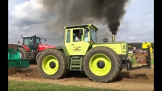 MB Trac | Vollgas Worth | Tractor Pulling  MB Trac 1800 Intercooler sound | Schlepperherz
