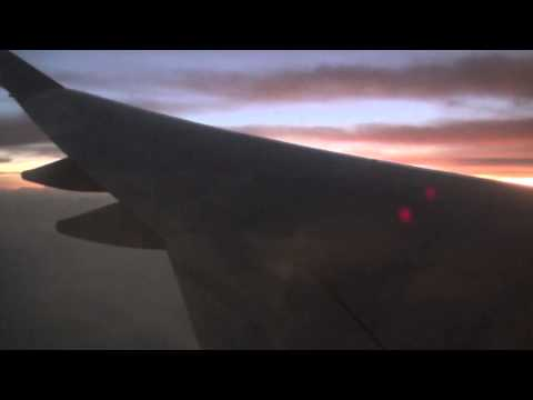 Boeing 747-400  Air Pacific (Fiji's National Airline)  LAX at night and landing at NAN at sunrise.