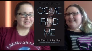 Come Find Me by Megan Miranda Book Review