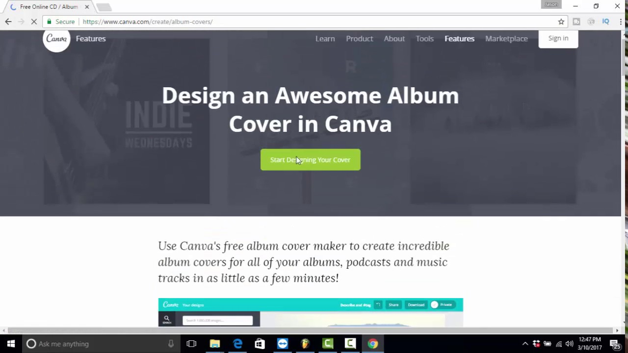 cd album cover maker