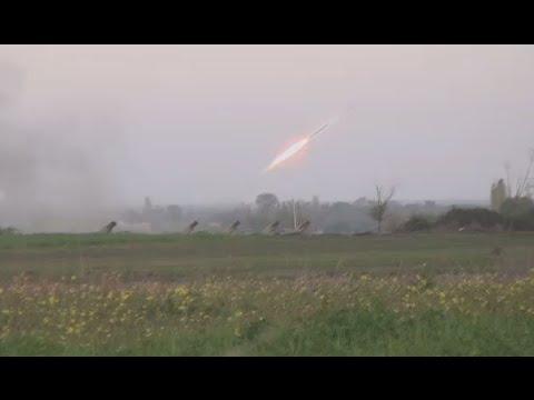 Azerbaijan fires salvos at Armenian positions in Nagorno-Karabakh ahead of ceasefire claims