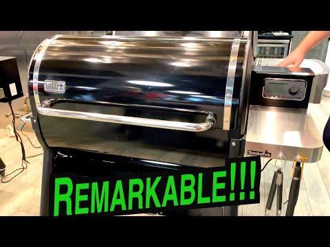 Weber SmokeFire Pellet Grill Review | Weber Pellet Grill Review