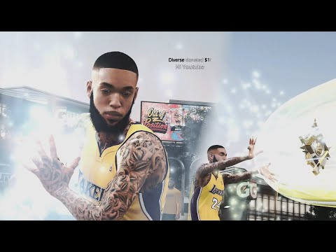 GEESICE FINALLY HITS LEGEND ON NBA 2K20 AND UNLOCKED 100 BADGES AND A HELICOPTER! |