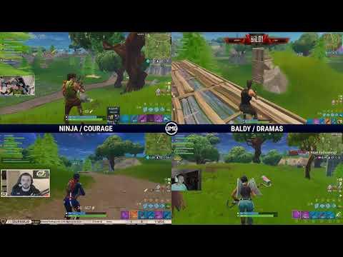Ninja & Courage Vs OpTic Gaming | Friday Fortnite Week 5 | Winners Quarterfinals