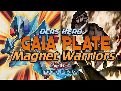 [DUEL LINKS] Gaia Plate Magnet Warriors - PVP Duels (Commentary) + Deck Profile