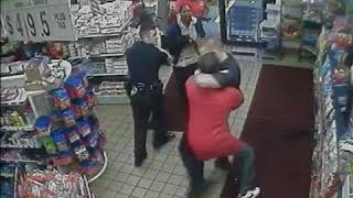 police fight in save 2018