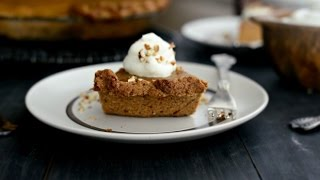 Pecan Whole Wheat Pie Crust recipe