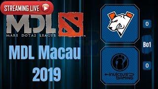 Virtus.Pro vs IG / Bo1 / MDL Macau 2019 / Dota 2 Live