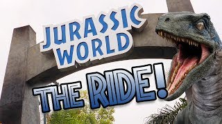 The New Jurassic World The Ride