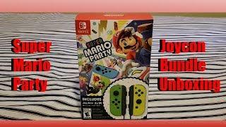 Super Mario Party Joycon Bundle Unboxing!