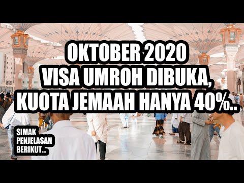 Jawaban Keberangkatan Umroh 2020 - 2021..