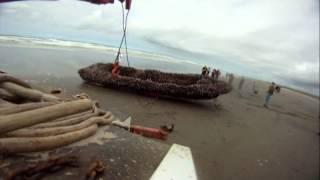 Tsunami Skiffs  Wash Up  on WA Coast