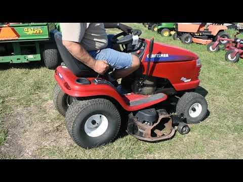Craftsman Dyt 4000 Riding Lawn Mower manual